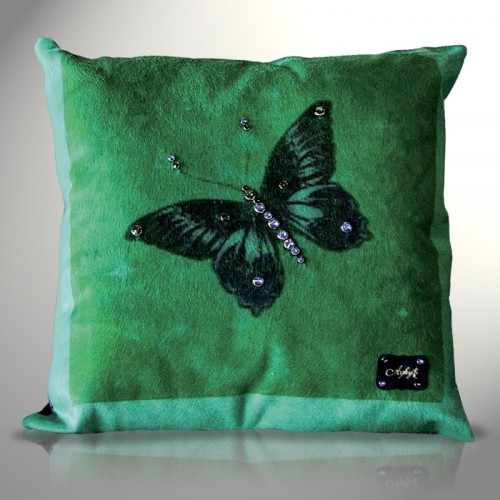 Cuscino Turquoise Butterfly