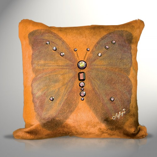 Cuscino Brown Butterfly