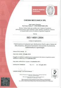 certificazione iso chesini
