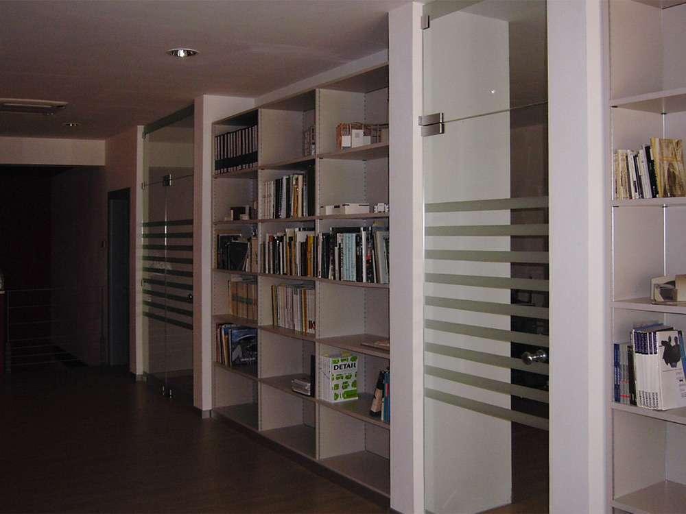 Porte automatiche in vetro arco trento santoni vetrisantoni vetri un nuovo sito targato for Pareti divisorie mobili per interni