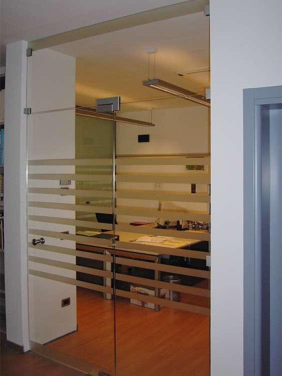 Porte automatiche in vetro arco trento santoni for Porte dinterni